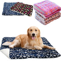 Pet Large Dog Blanket Winter Pet Bed Mat