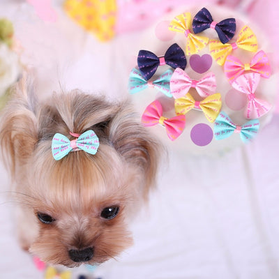 Dog Cat dog grooming Beauty Supplies Bows Hairpin Pet Hair Clips pet