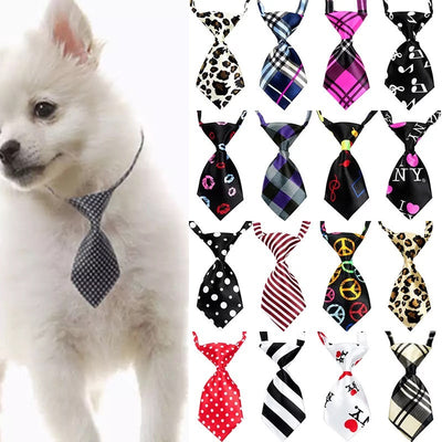 Pet  Dog Tie Puppy Grooming Products Adjustable Rabbit Dog Bow