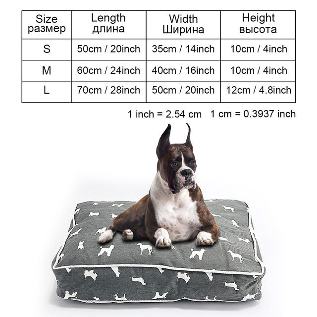 Dog Bed Bench Dog Beds Mats For Small Medium Large Dogs