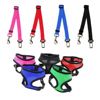 Dog Car Seat Belt Hand Leash Adjustable