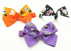 Cute Animals Ribbon Dog Bow Ties For Halloween Dog Neckties