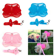 Small Pet Harness Leashes Adjustable Pet Angle
