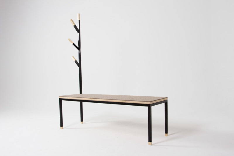 Feature of the Week: Felt Entryway Bench by designer Marc Weersink