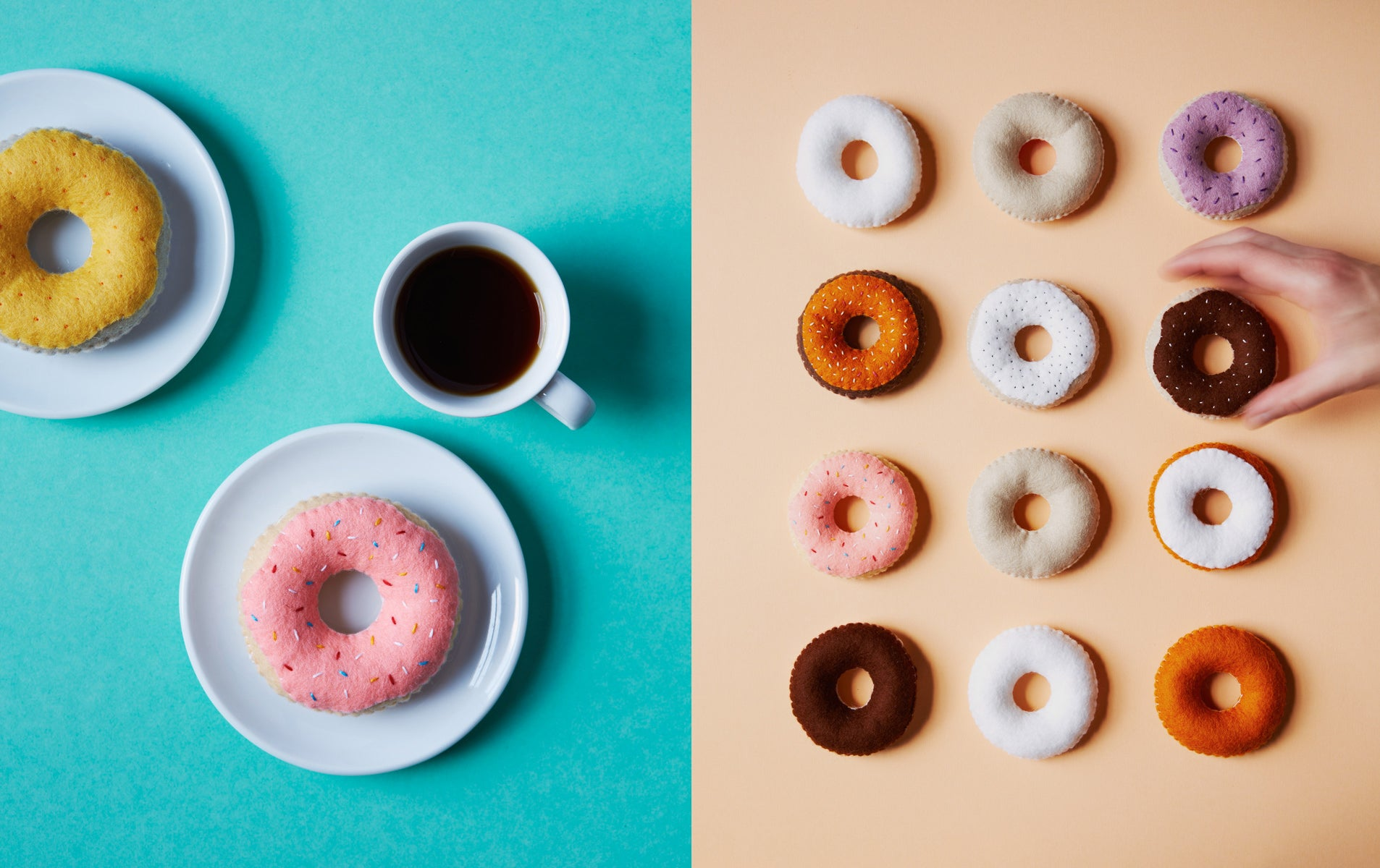 This Is How You Do National Donut Day- Felt Style