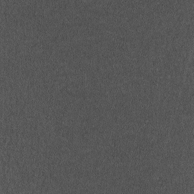 100% Wool Designer Felt By Foot - Dark Gray
