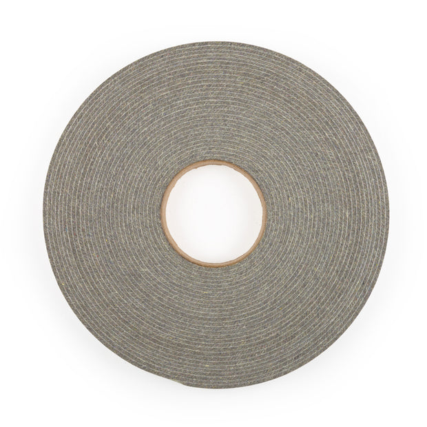 F-3 Industrial Felt Stripping with Adhesive - 50' Long