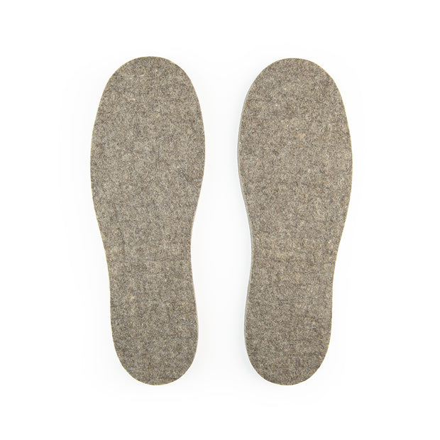 Wool Felt Insoles - 13mm Thick