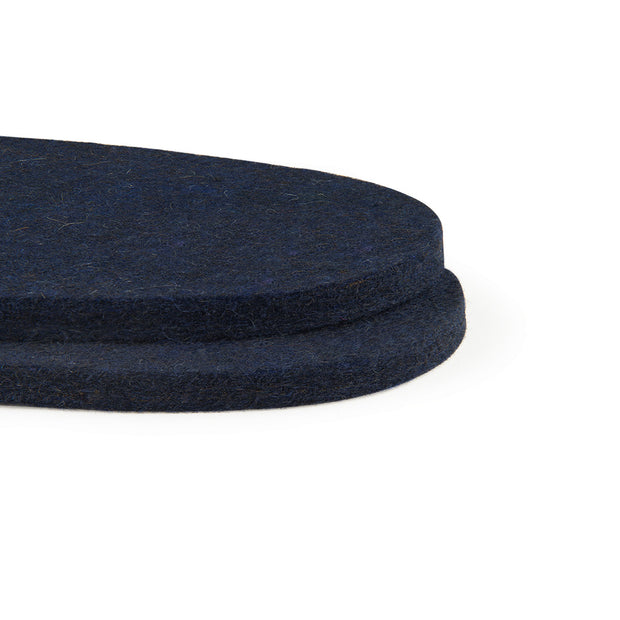 Wool Felt Insoles - 8mm Thick, 2 Pair