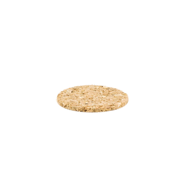 "1"" Diameter Light Duty Cork Pads By Roll"