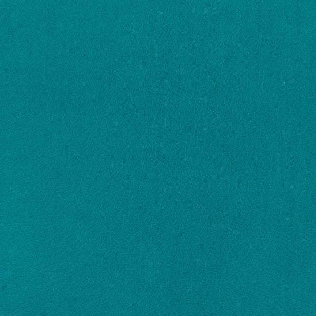 "Stiff Craft Felt Sheets - 12"" Square, Teal, 12 Pieces"