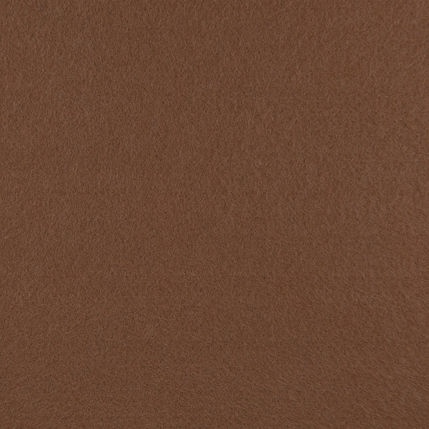 Rayon/Viscose Craft Felt By Yard - Chocolate Brown