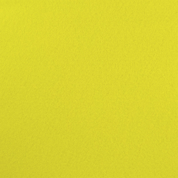 Rayon/Viscose Craft Felt By Yard - Light Yellow