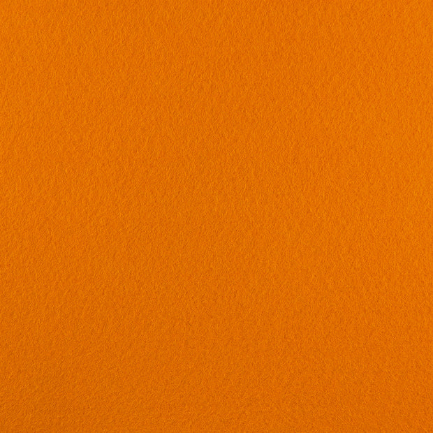 Rayon/Viscose Craft Felt By Yard - Orange