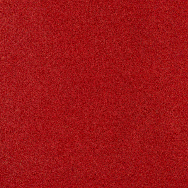 Rayon/Viscose Craft Felt By Yard - Red