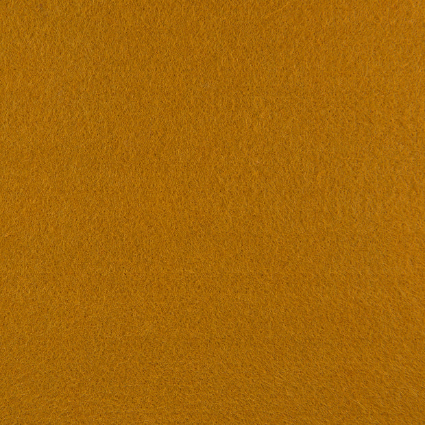 Premium Wool Blend Craft Felt By Yard - Antique Gold