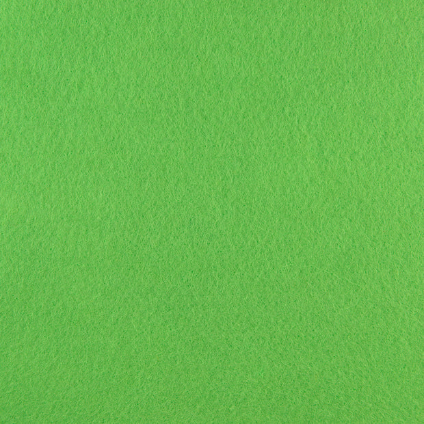 Premium Wool Blend Craft Felt By Yard - Apple Green