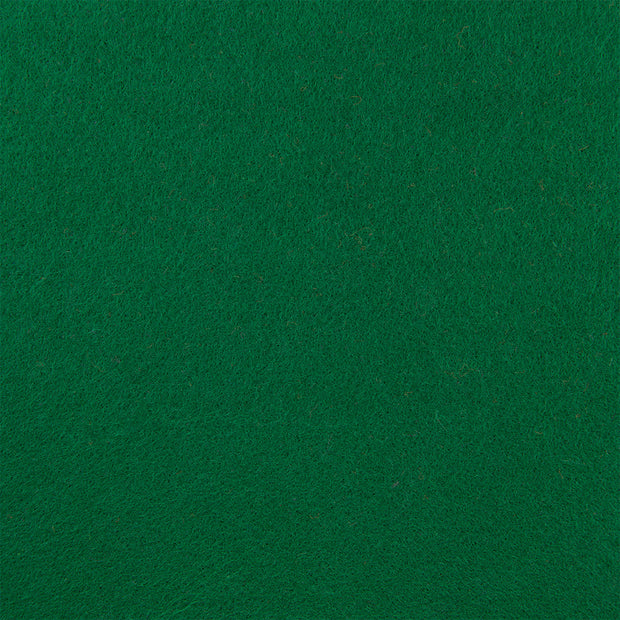 Premium Wool Blend Craft Felt By Yard - Emerald Green