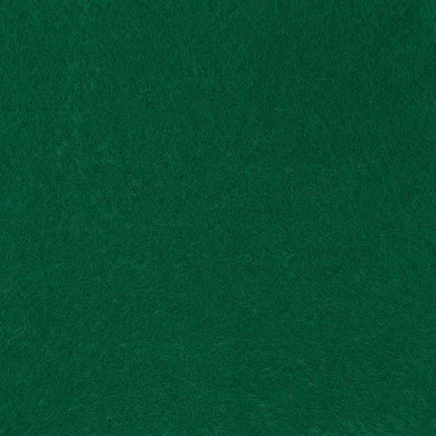 Premium Wool Blend Craft Felt By Yard - Hunter Green