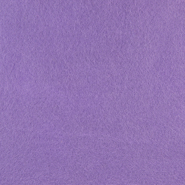 Wool Blend Craft Felt By Yard - Light Purple