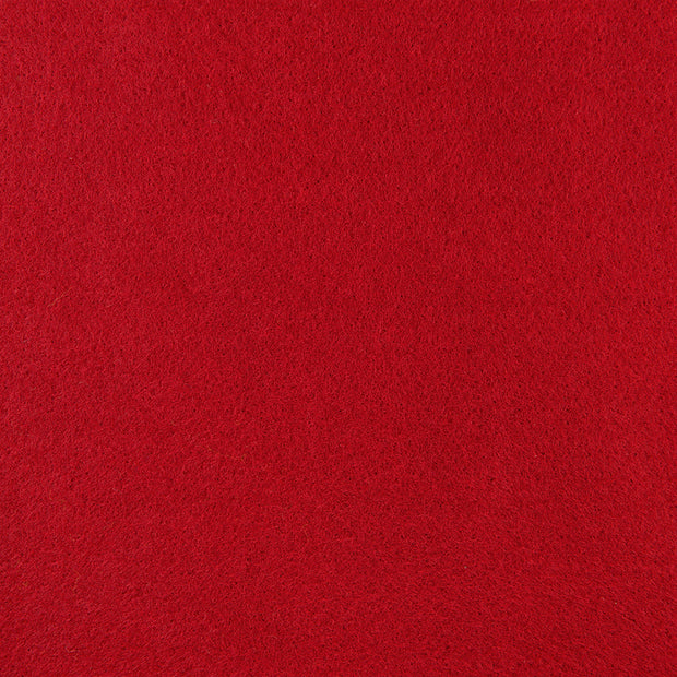 Premium Wool Blend Craft Felt By Yard - Red