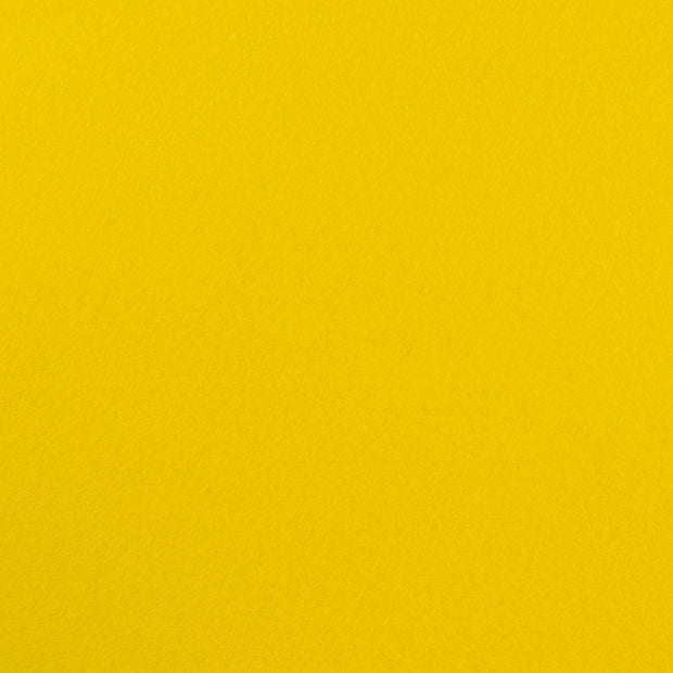 Premium Wool Blend Craft Felt By Yard - Yellow