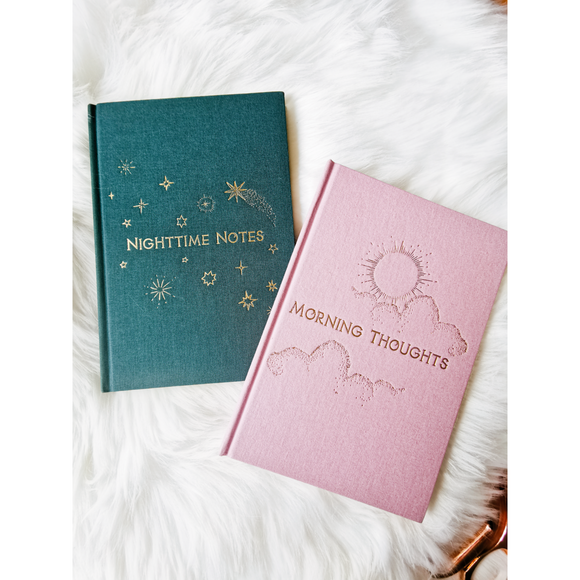 TWO WAY 'MORNING AND NIGHT' NOTEBOOK