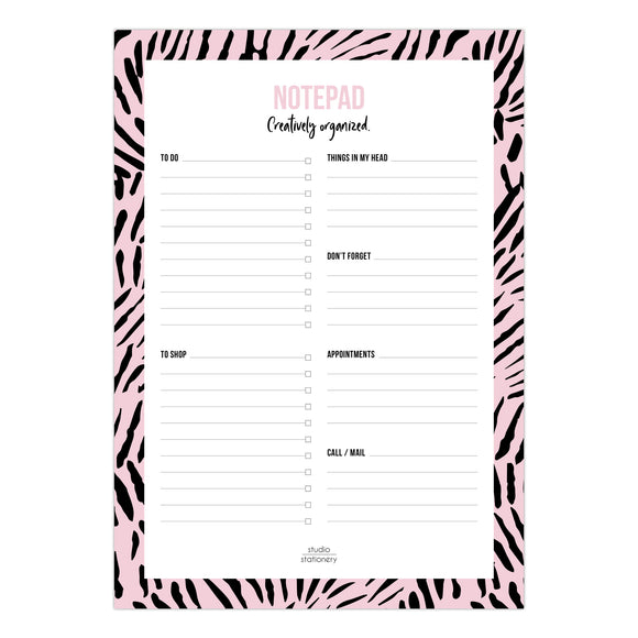 Creatively Organised - Notepad