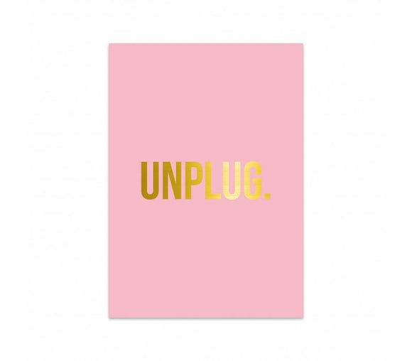 UNPLUG Card