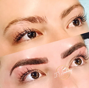 Microblading Combo Brows- Stroke +Shading 101