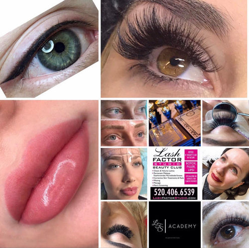 5 Day Lash Extension &/or Pmu Certification- You Design It!