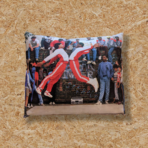 BREAKDANCERS - CLARE MULLER CUSHION