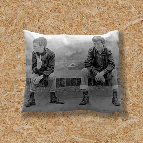 TWO SKINHEAD BOYS - GAVIN WATSON CUSHION