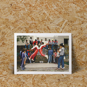 BREAKDANCERS - CLARE MULLER PRINT