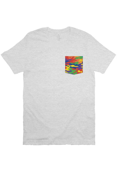 Rainbouflage Pocket Tee