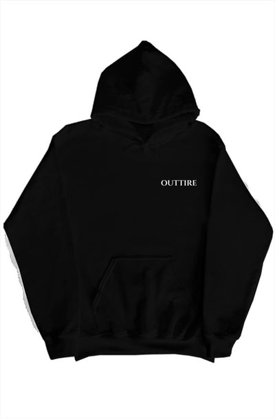 Obsidian Black Hoodie - Outtire