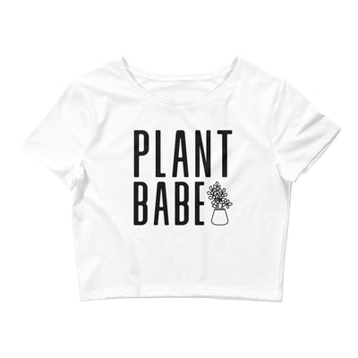 Plant Babe Crop Tee - Outtire