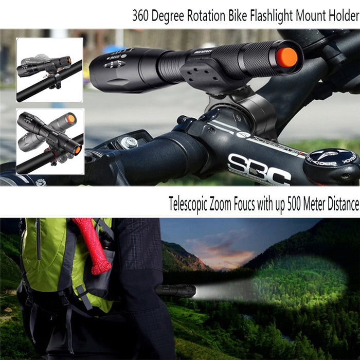 Outdoor Tactical Flashlight