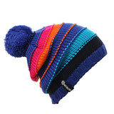 Snow Beanie - Stripe color options