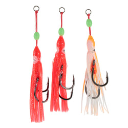 5pcs Glow Lures - SQUID