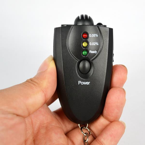 Key Chain Breathalyzer
