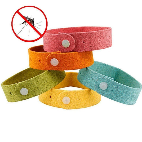 Mosquito Repellent Bracelets - 5 pc/set