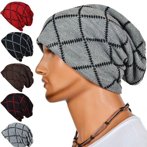 Plaid Beanie - skate/snow/surf