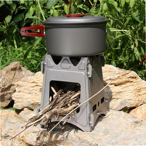 Wood Fire Stove - Titanium