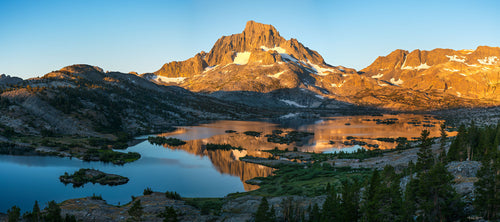 Sunset, Thousand Island Lake, Ansel Adams Wilderness