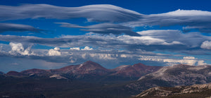 Lenticular Clouds over the Sierra Crest
