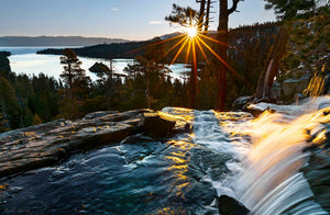 Sunrise over Emerald Bay,  Lake Tahoe