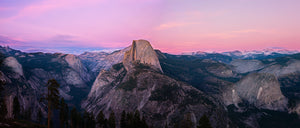 Glacier Point Sunset Panorama