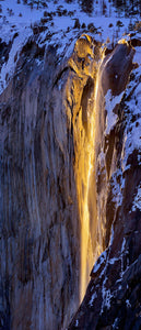 Winter Light, Horsetail Fall