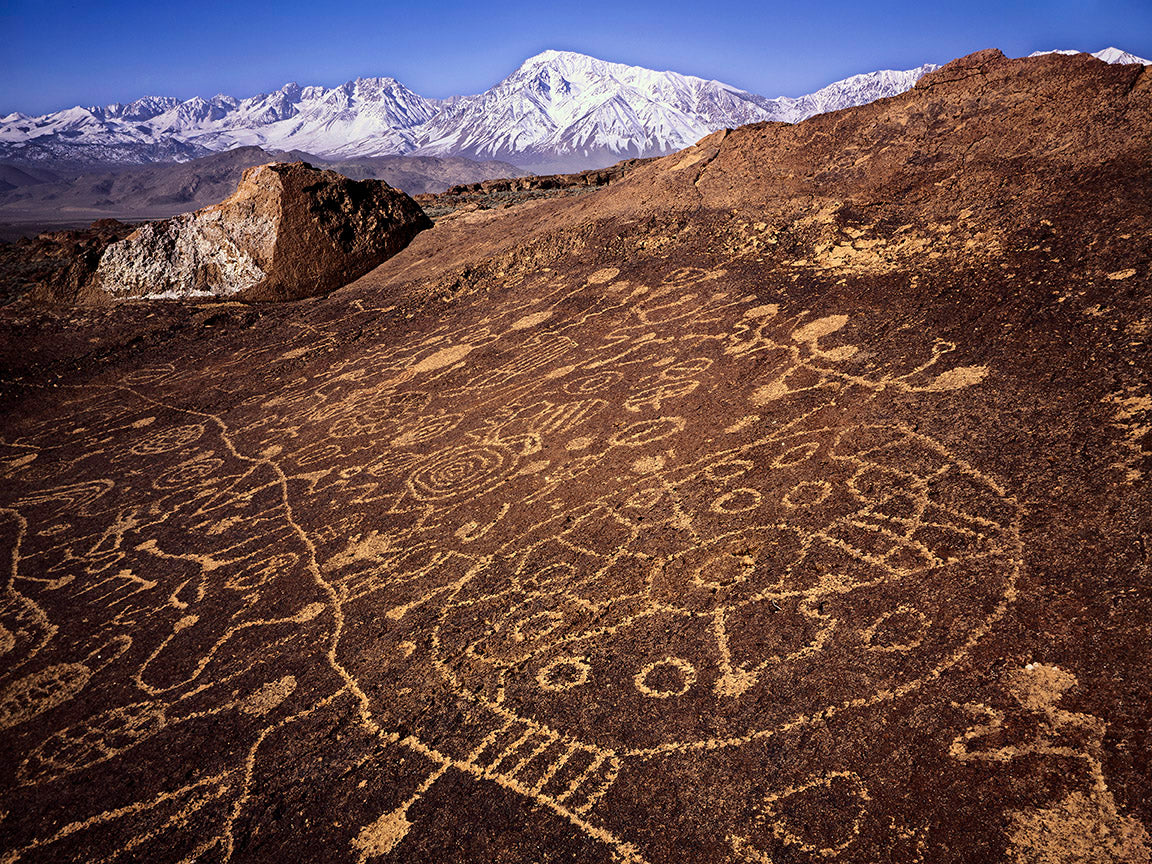 Petroglyphs in the Eastern Sierra
